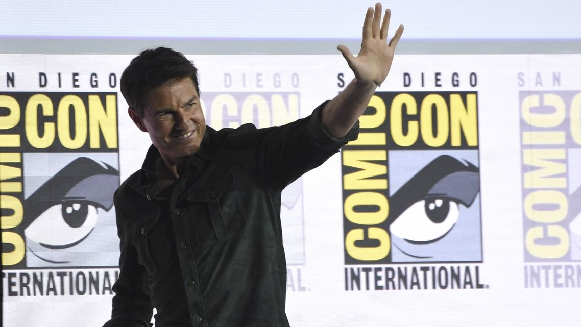 Tom Cruise auf Comic-Con-Messe