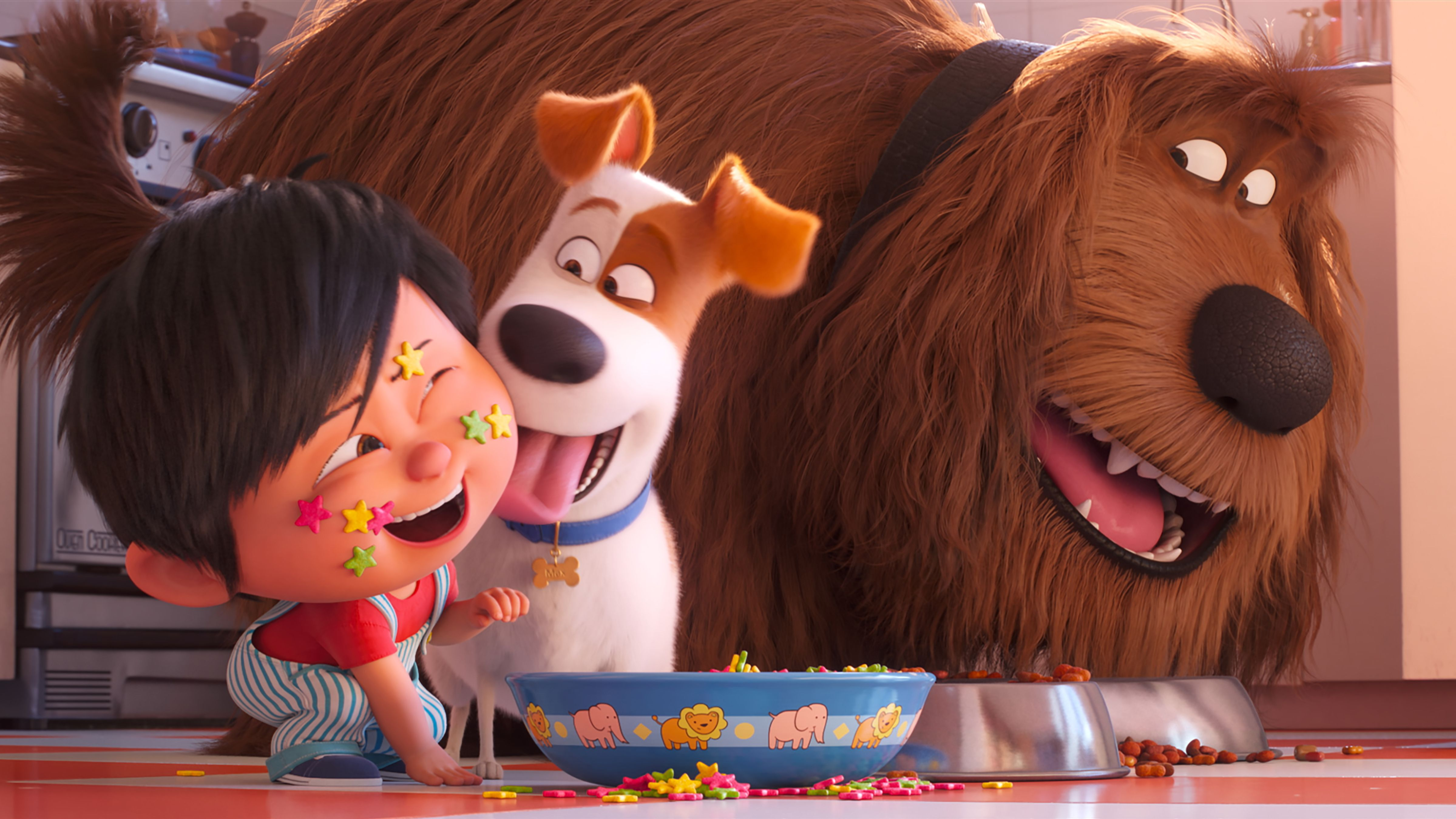 "Die Haustiere sind wieder los in ""Pets 2"" (Filmszene)."