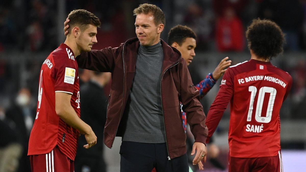 Julian Nagelsmann nach dem Spiel gegen Hertha BSC Berlin