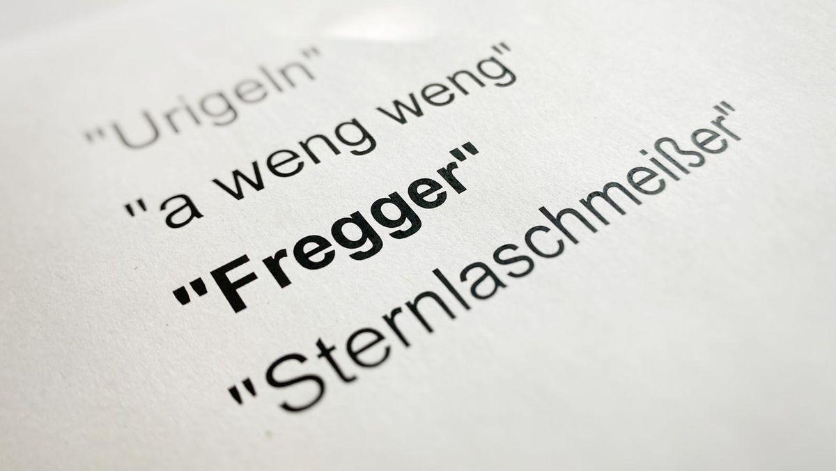 """""""Fregger"""" bezeichnet einen gewitzten Menschen oder ein freches, aber durchaus sympathisches Kind"""