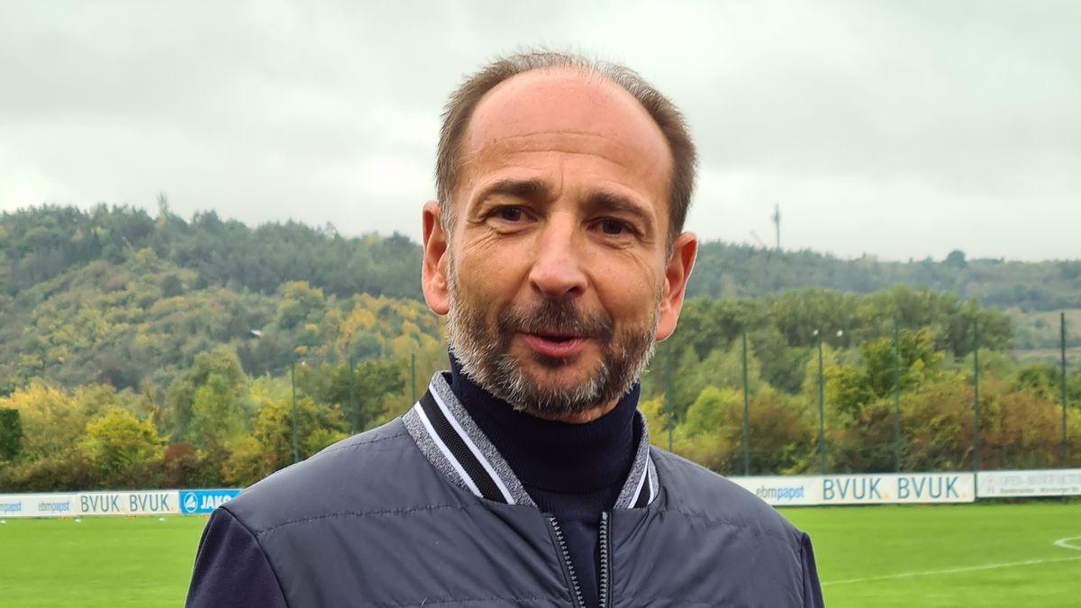 Christian Jäger, der Vorstandsvorsitzende der Würzburger Kickers
