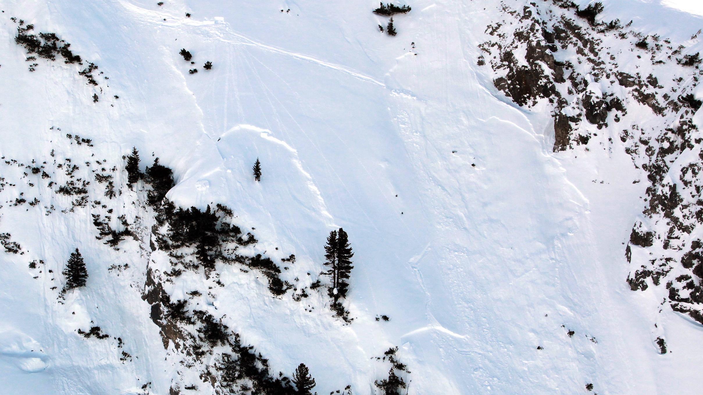 Symbolbild: Ein Hang im Skigebiet Lech am Arlberg