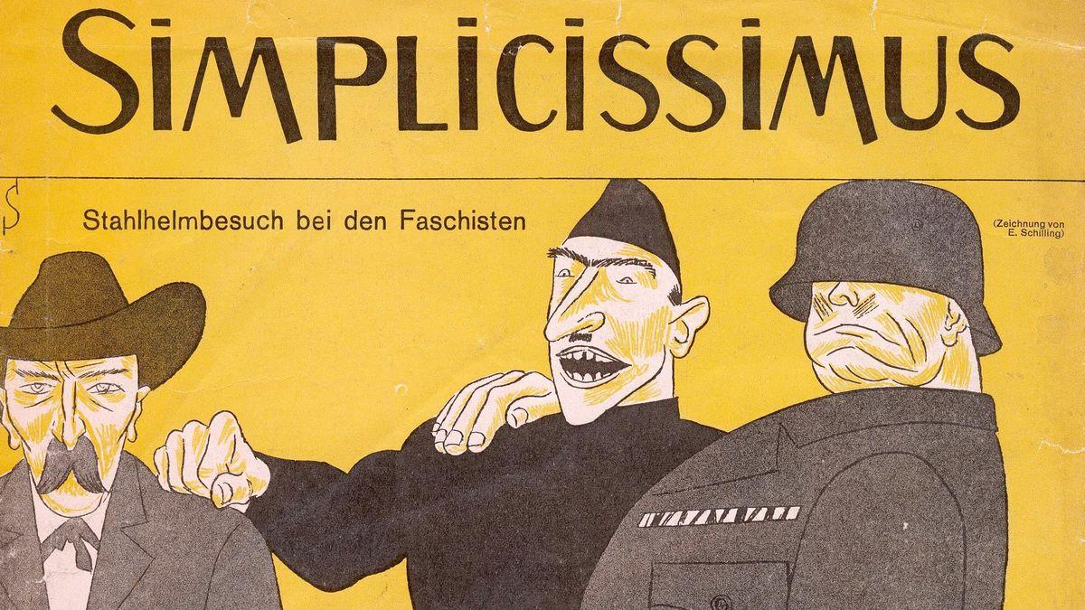 Ausgabe des SImplicissimus vom 2.Dezember 1929.