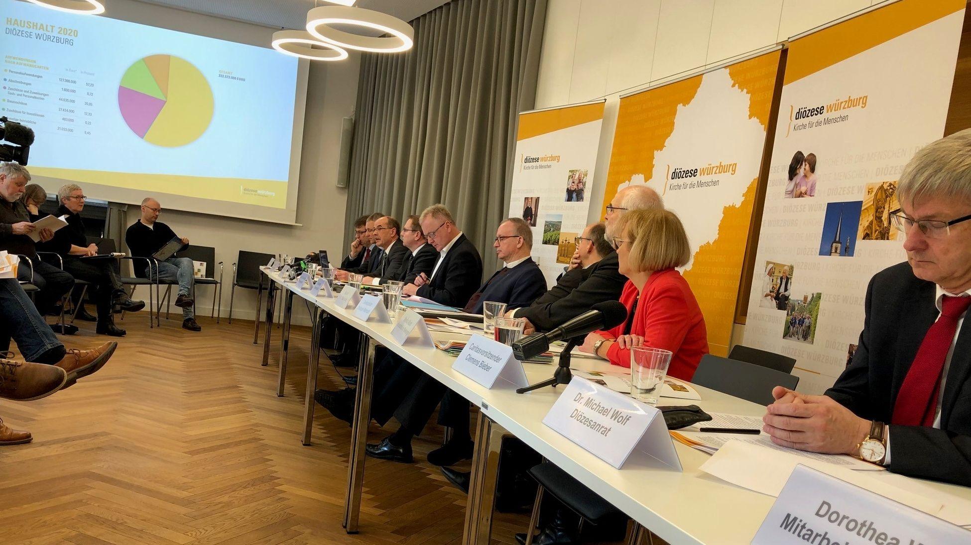 Pressekonferenz des Bistums Würzburg