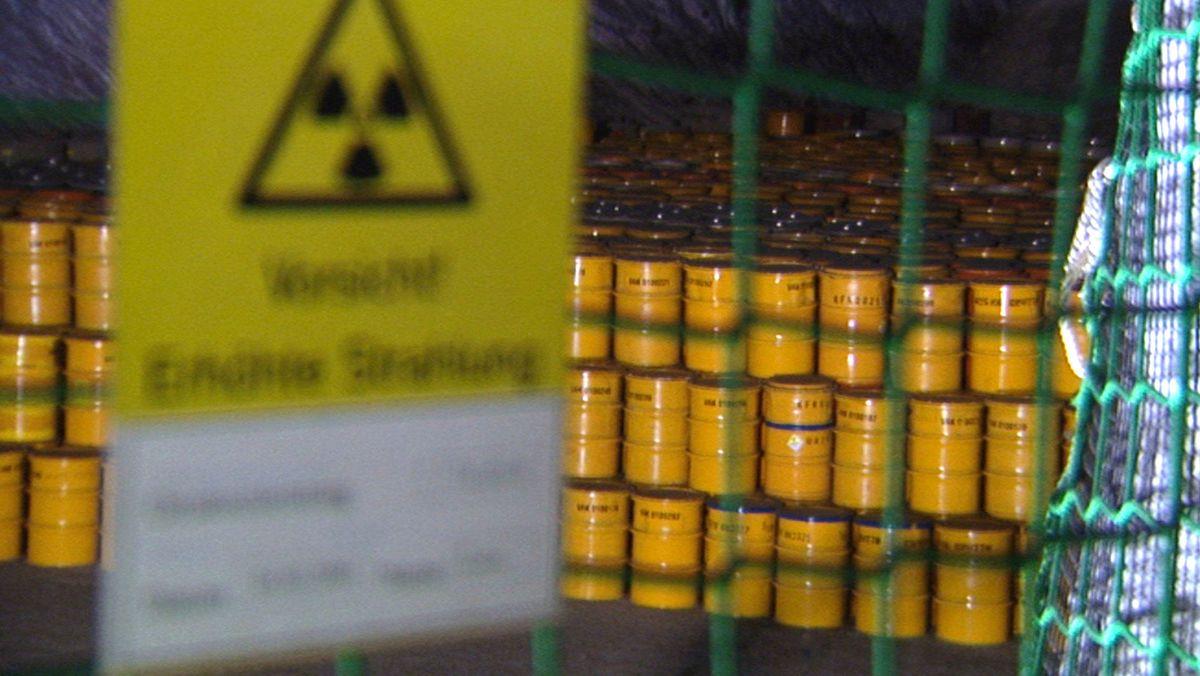 Fässer mit Atommüll (Symbolfoto)