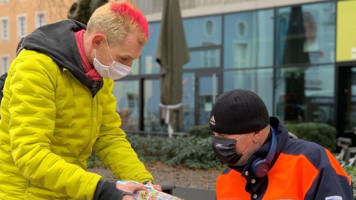 Streetworker Ben Peter von der Caritas Regensburg