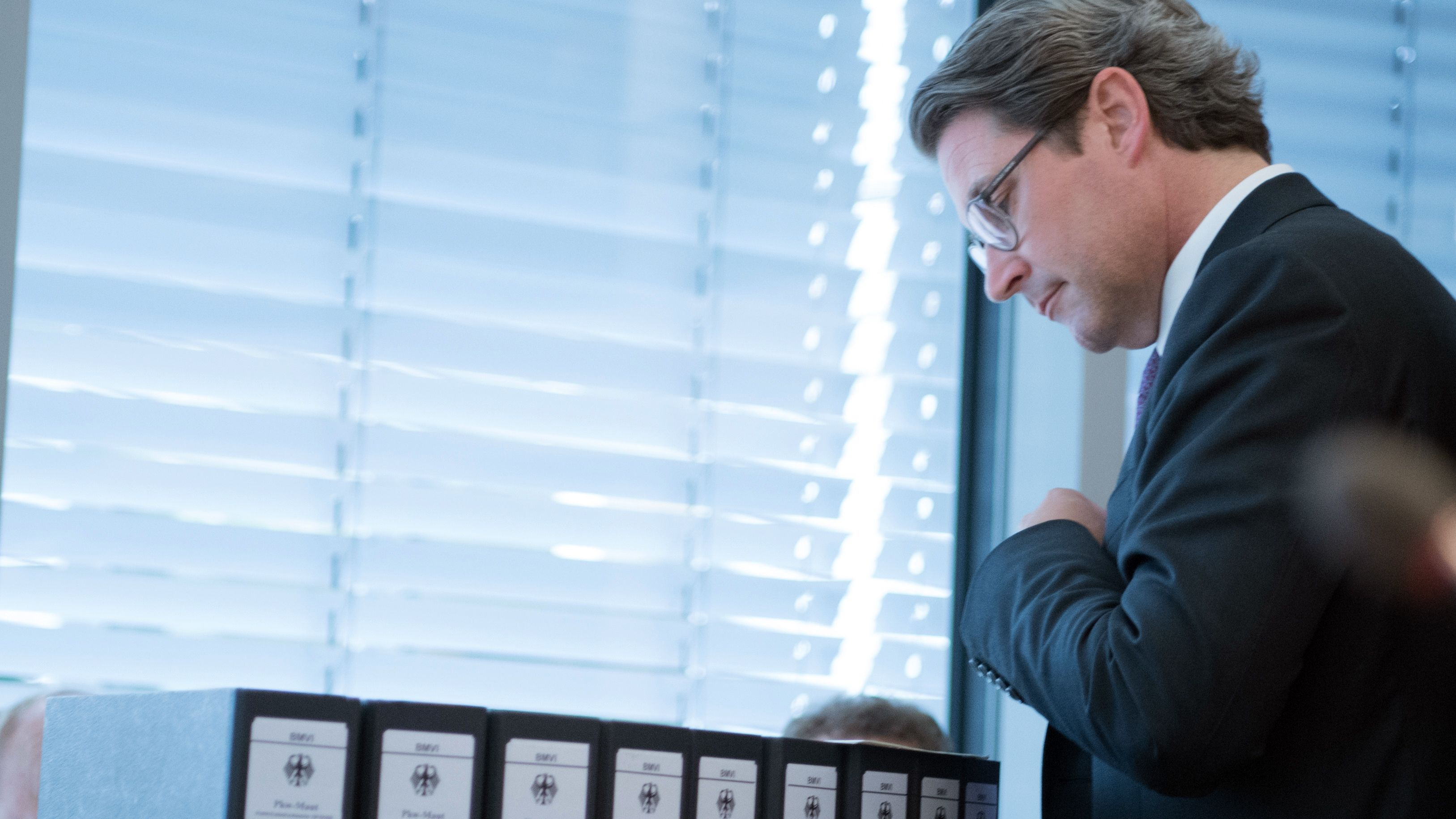 Andreas Scheuer (CSU), Bundesverkehrsminister, kommt zur Sondersitzung des Verkehrsausschusses im Bundestag zur gescheiterten Pkw-Maut.