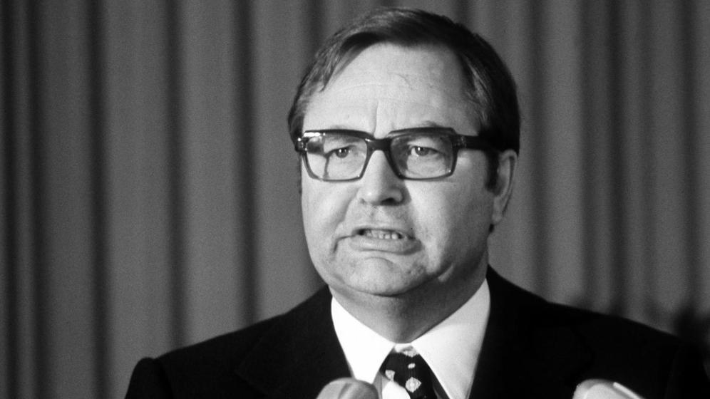 Horst Herold im Jahr 1974 | Bild:pa / dpa / Heinz Wieseler