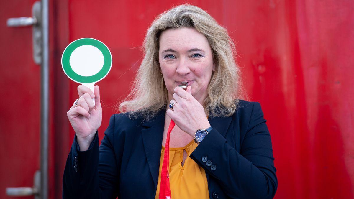 Verkehrsministerin Kerstin Schreyer