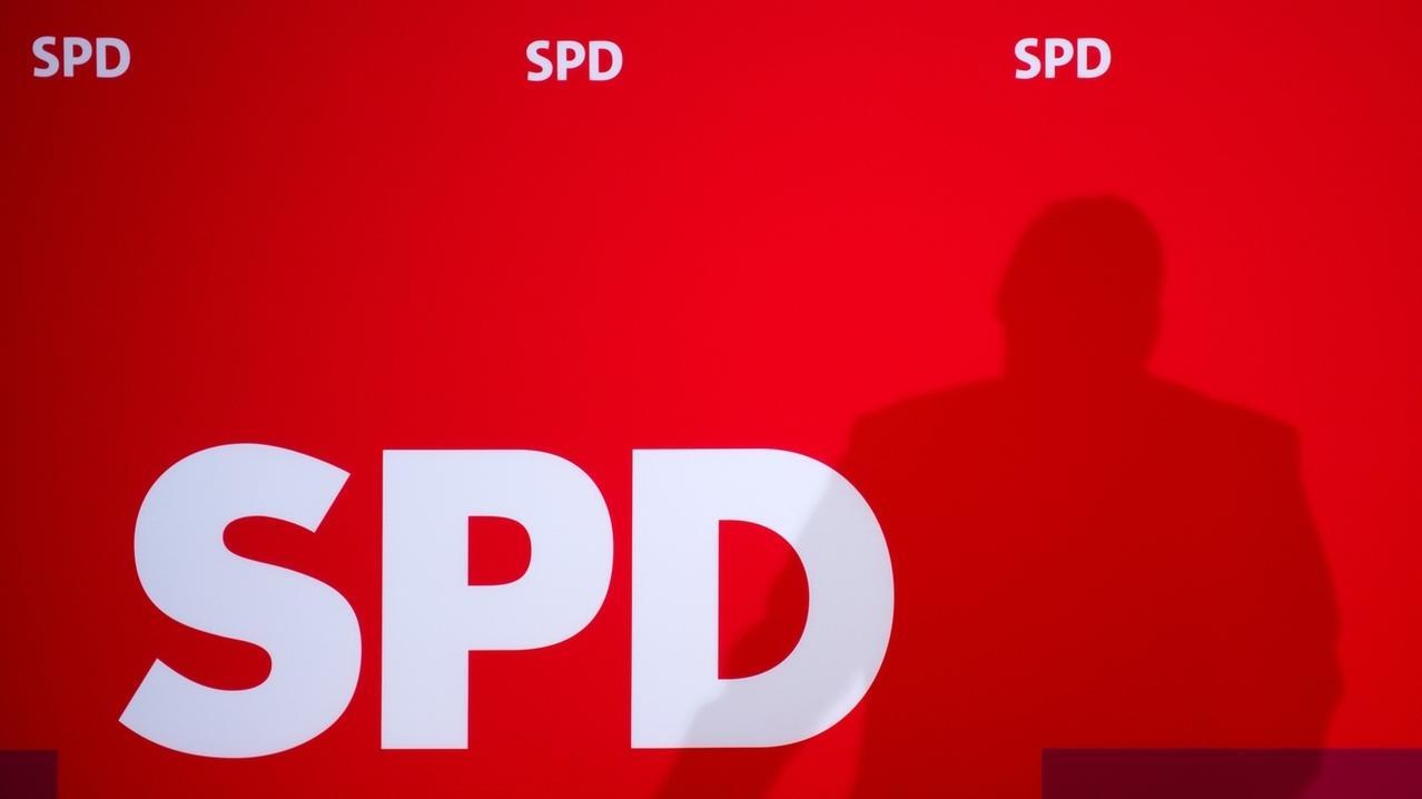 SPD - Logo mit Schatten