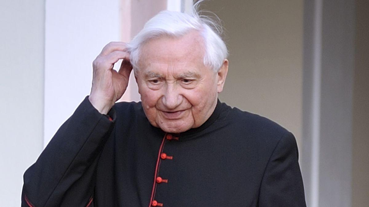 Georg Ratzinger 2008 in Rom