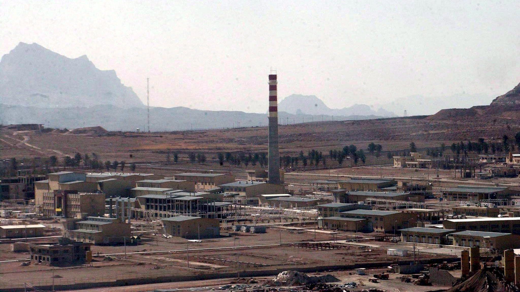 Der Urananreicherungskomplex im iranischen Isfahan (Archivbild)