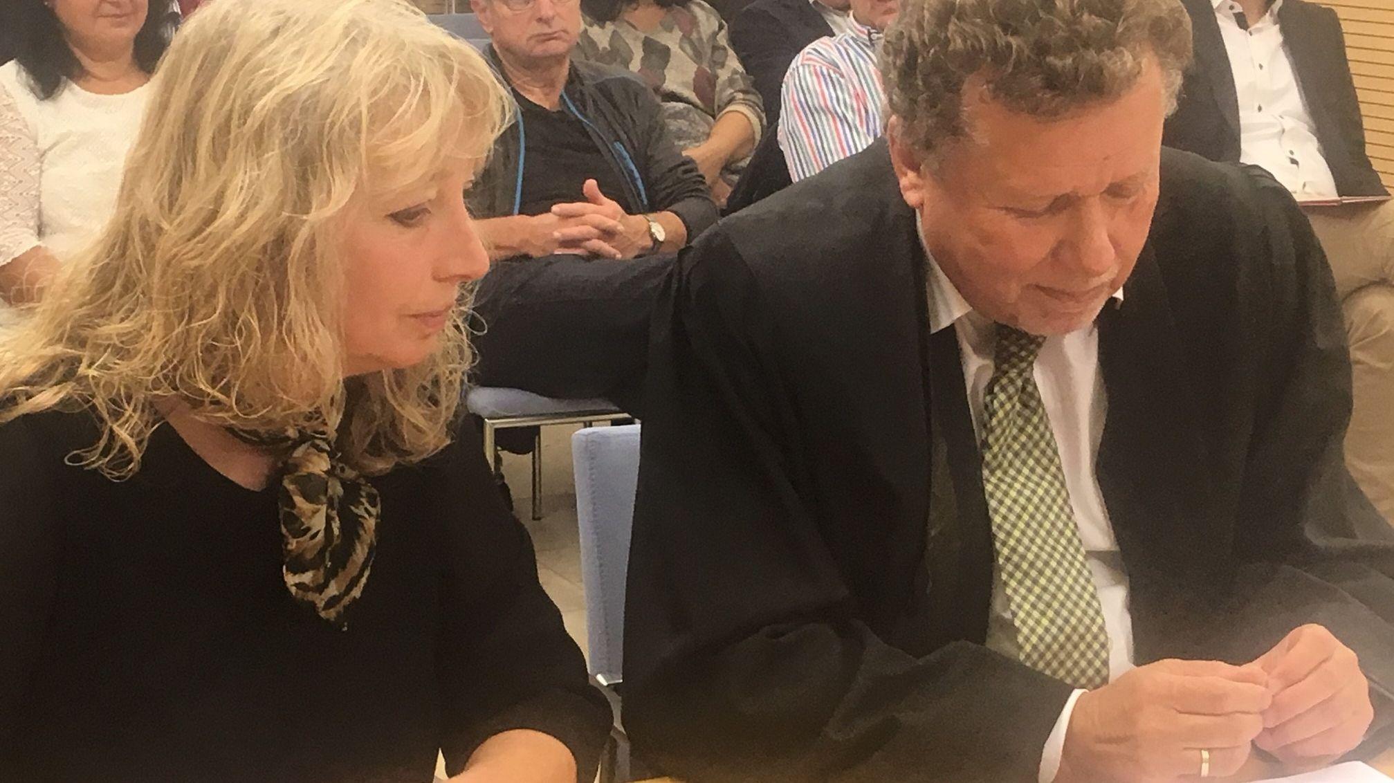 Bürgermeisterin von Leutershausen, Sandra Bonnemeier, stand heute vor dem Arbeitsgericht