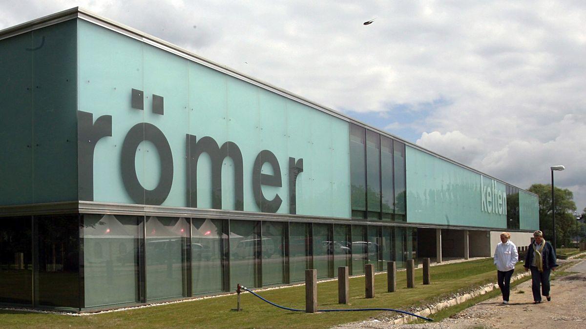 Das Kelten- und Römermuseum, ein Zweigmuseum der Archäologischen Staatssammlung, in Manching bei Ingolstadt.