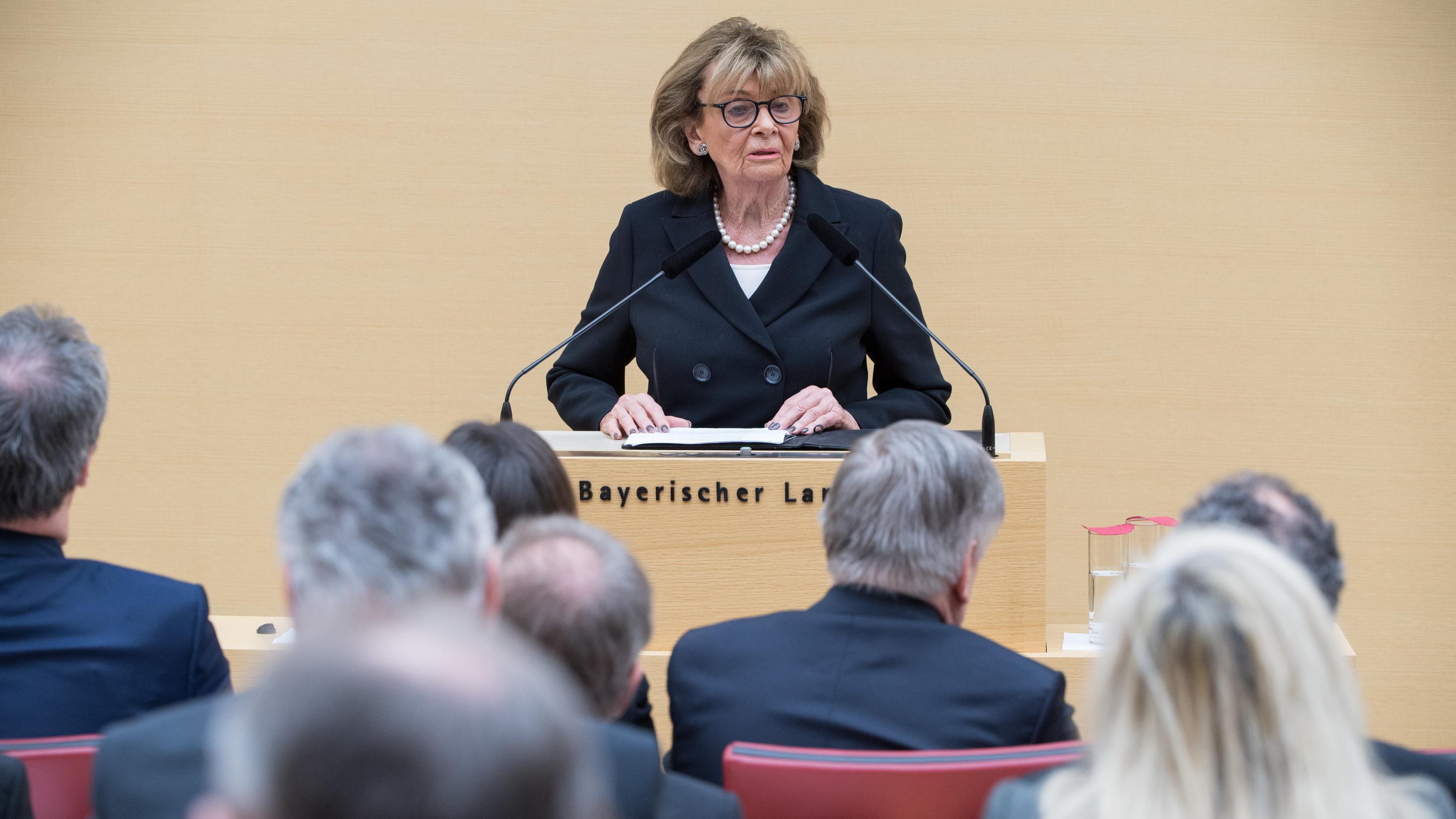 Charlotte Knobloch, ehemalige Präsidentin des Zentralrats der Juden