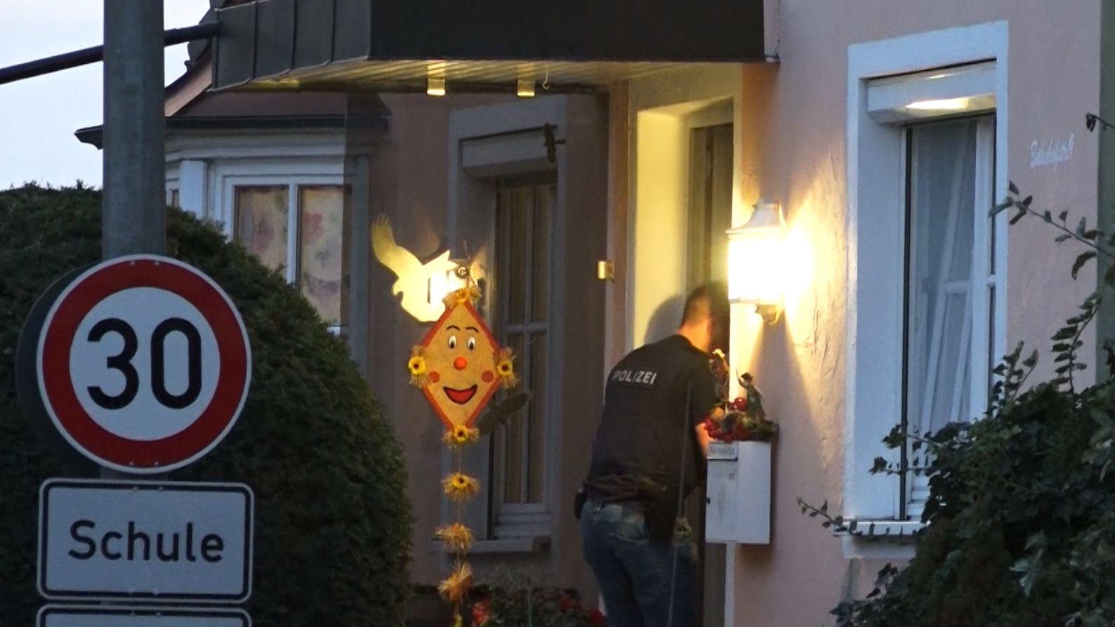 Razzia in Frensdorf