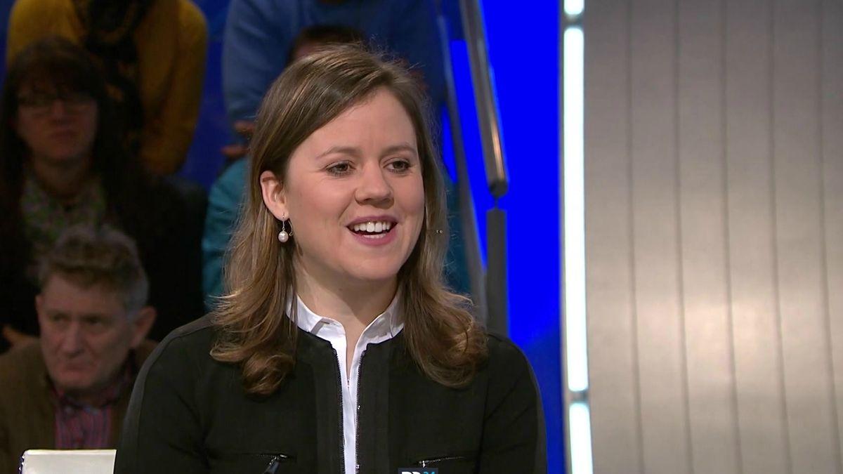 Viktoria Rebensburg zu Gast in Blickpunkt Sport