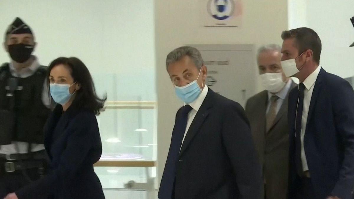 Frankreichs ehemaligen Präsidenten Sarkozy
