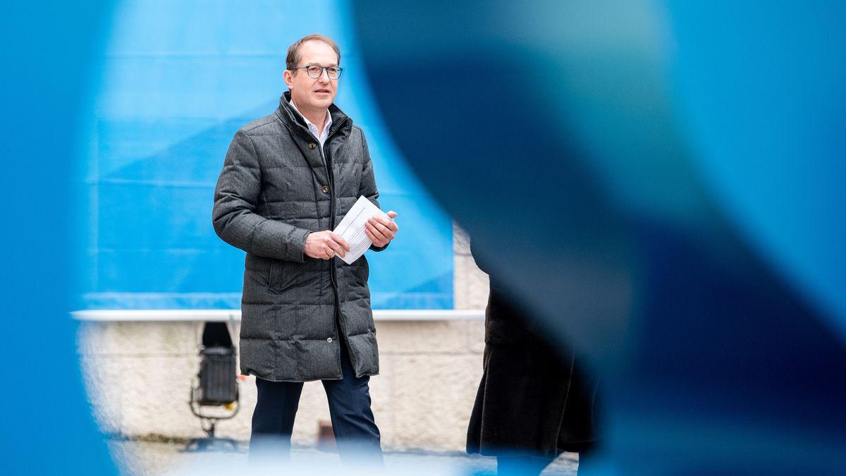 CSU-Landesgruppenchef Alexander Dobrindt beim Klausurtreffen in Kloster Seeon am 8. Januar 2020