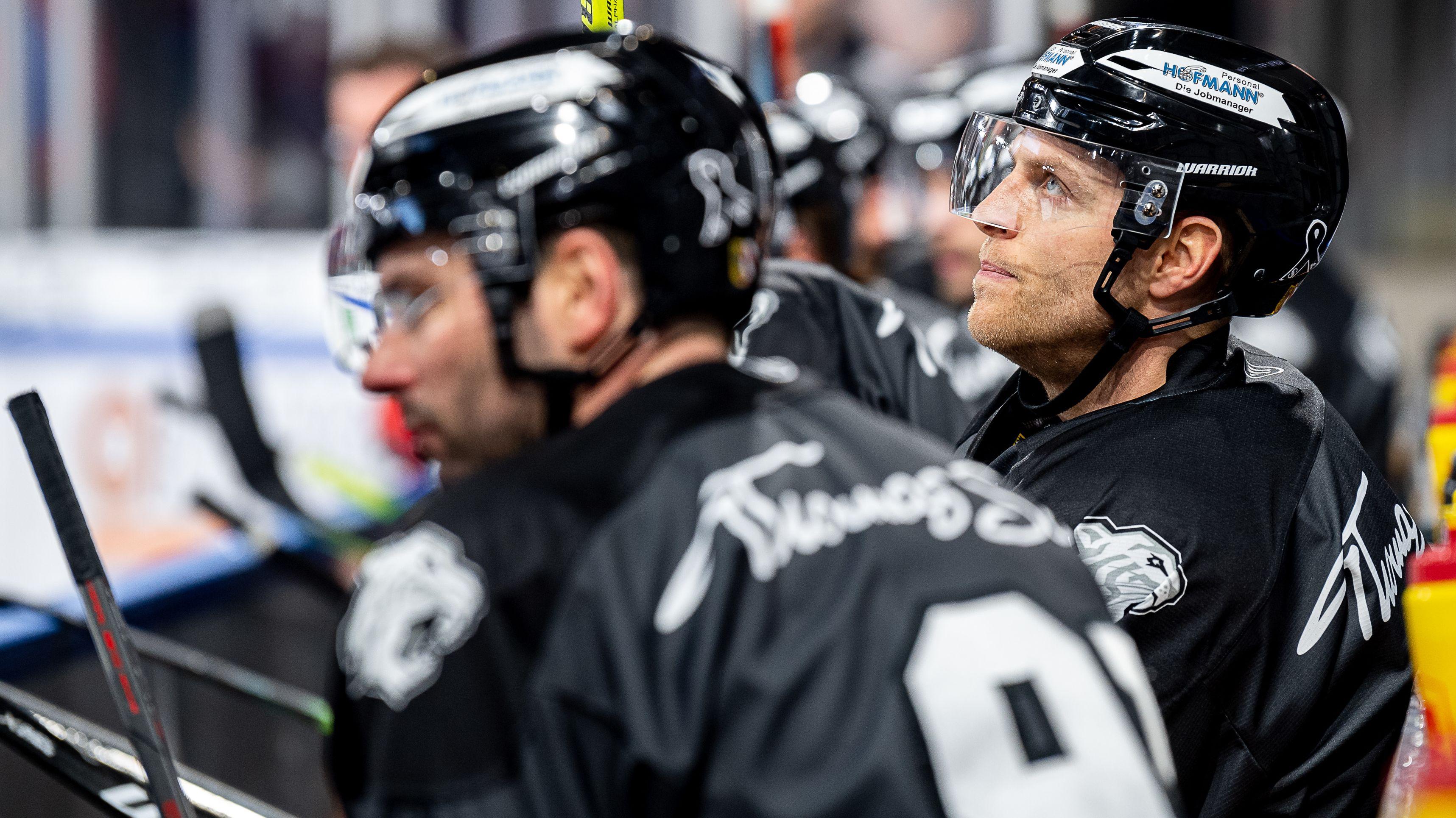 Chad Bassen von den Nürnberg Ice Tigers