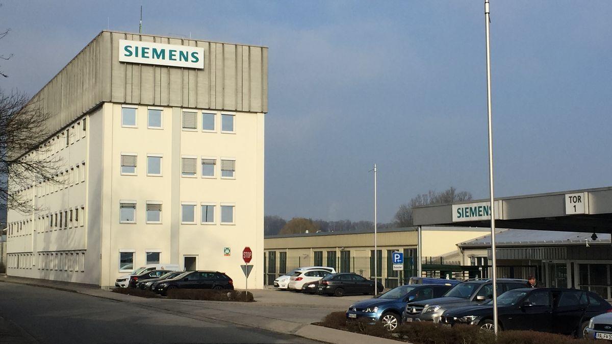 Das Siemens-Gebäude in Ruhstorf