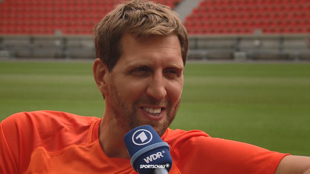 Dirk Nowitzki im Sportschau-Interview