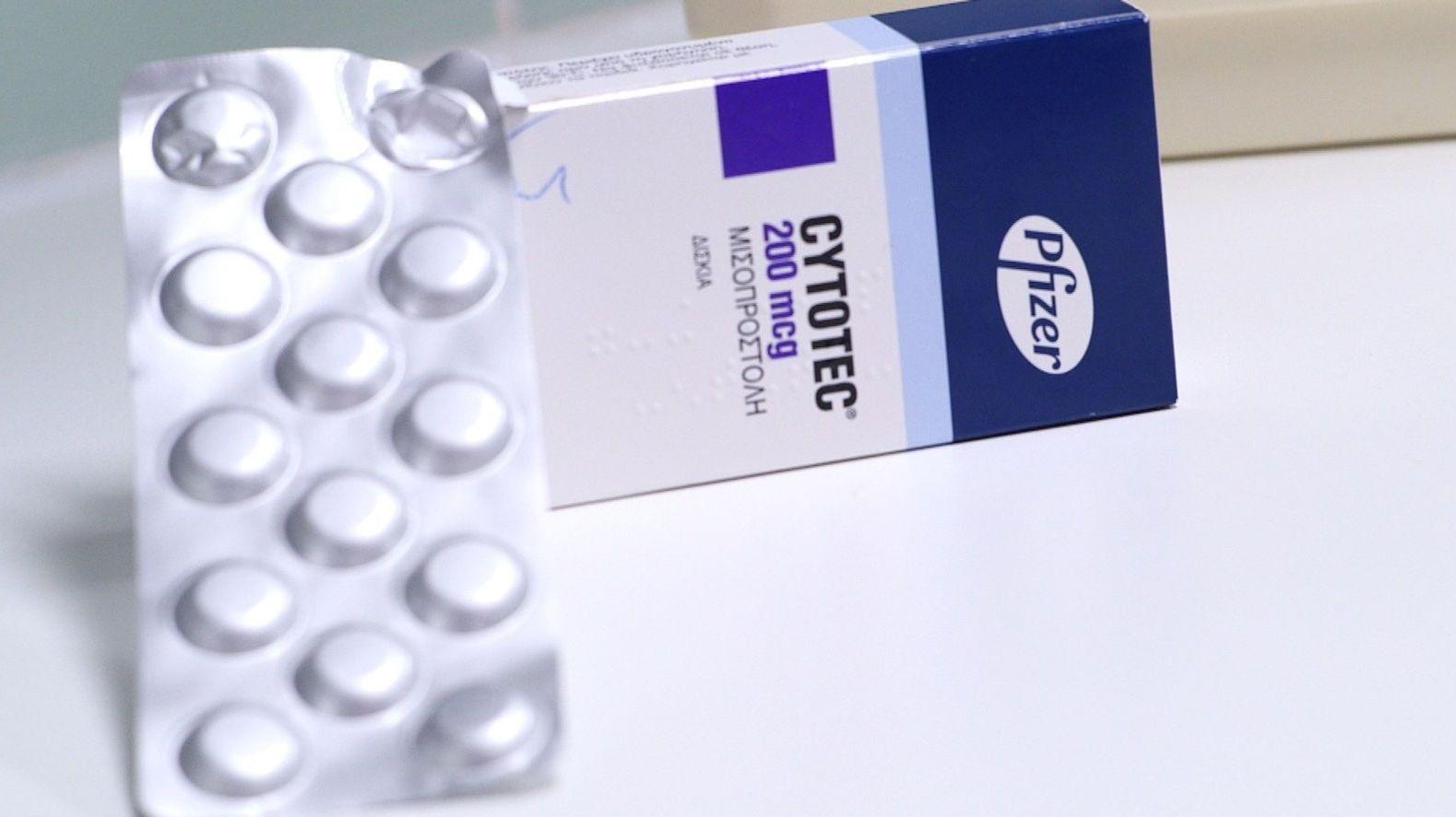 Eine Schachtel des Medikaments Cytotec