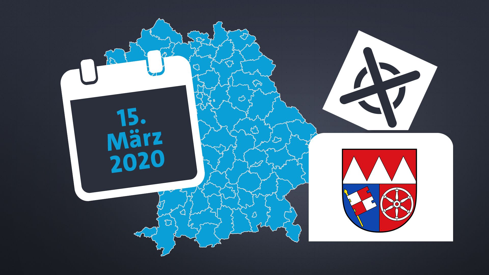Kommunalwahl in Unterfranken: Wo es spannend wird