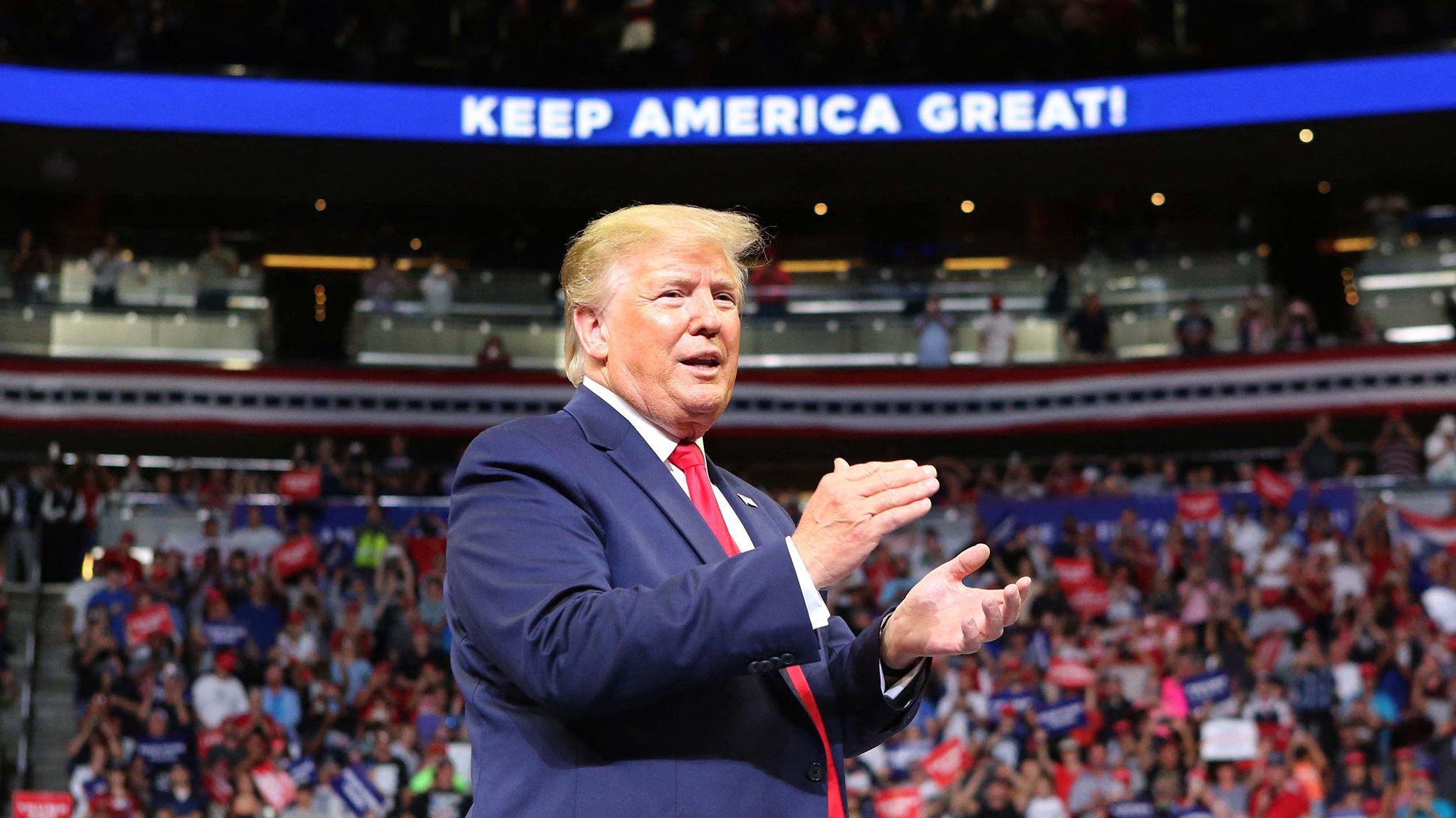 Donald Trump in Orlando