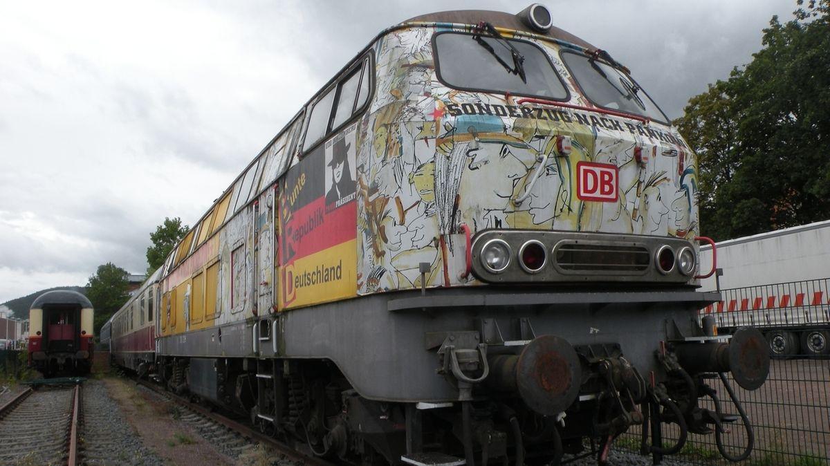 Ausflug zu Lindenbergs Sonderzug nach Pankow