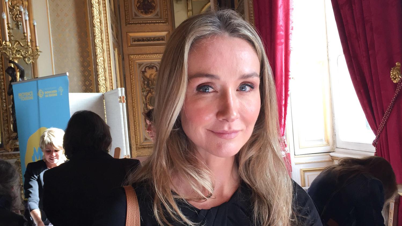 """Umweltaktivistin Alexandra Cousteau, Enkelin des legendären französischen Meeresforschers Cousteau, beim Gastronomiefestival """"Gout de France"""" im  Außenministerium."""