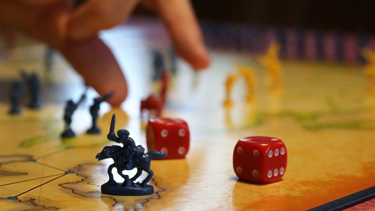 Brettspiel zu Hause