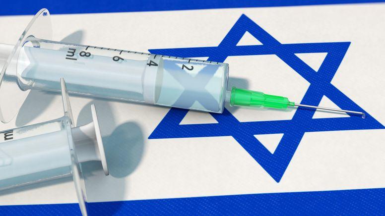 Symbolbild: Corona-Impfung in Israel   Bild:dpa