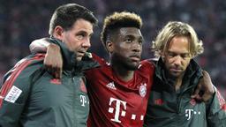 Kingsley Coman nach seiner Verletzung am 1. Spieltag | Bild:picture-alliance/dpa