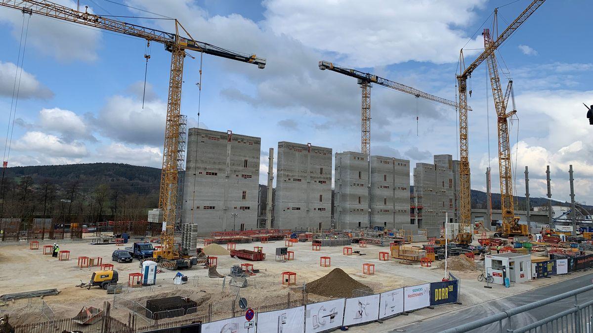 In Forchheim baut Siemens Healthineers für 350 Millionen Euro einen neuen Produktions- und Entwicklungsstandort.