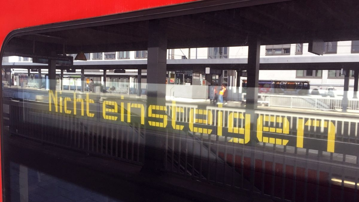 Zugausfälle auf Münchner Stammstrecke