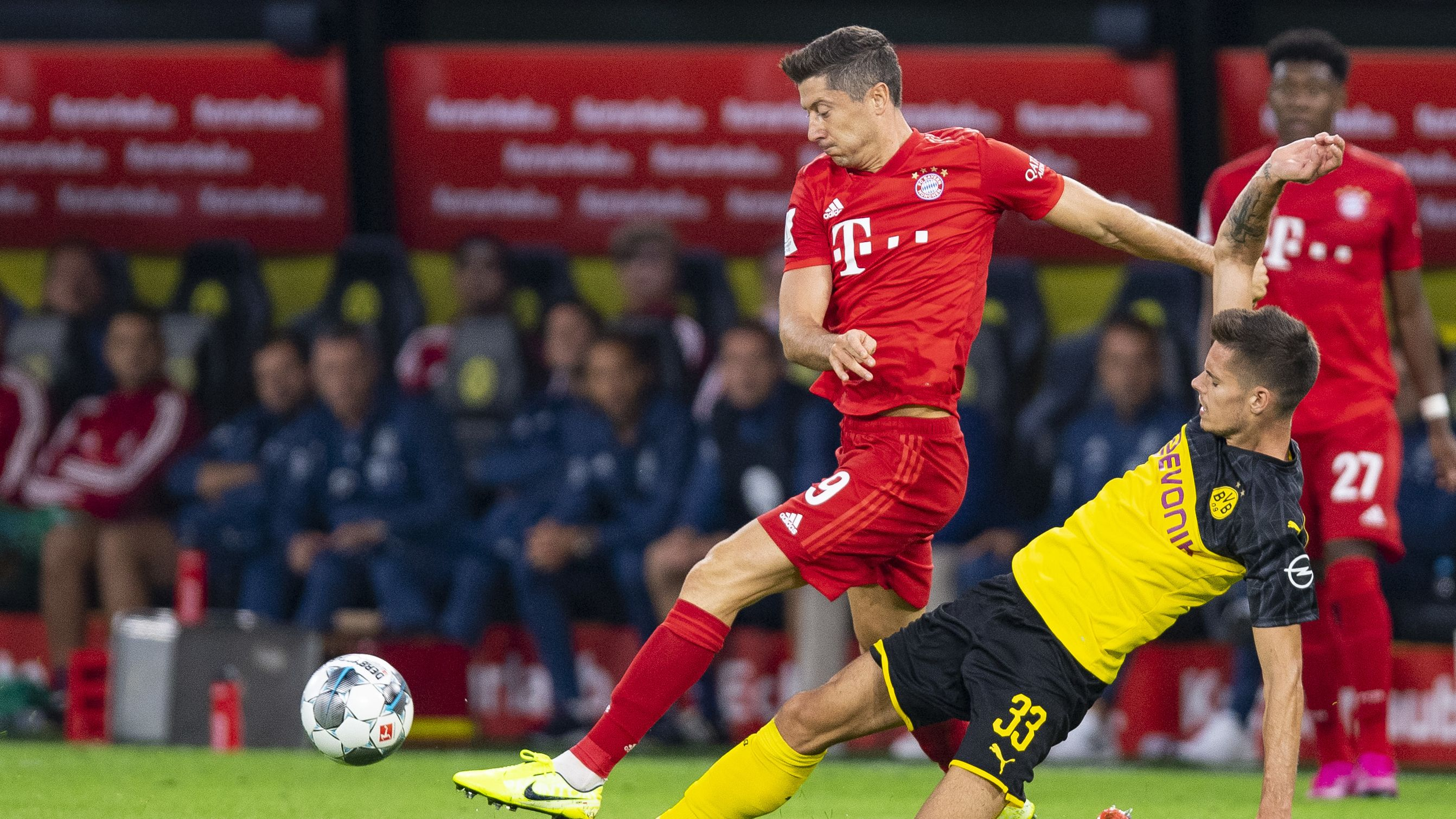Spielszene Borussia Dortmund - FC Bayern