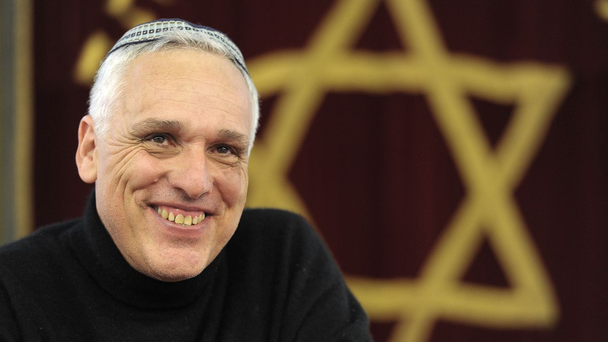 Felix Gothart, der Vorsitzende der Israelitischen Kultusgemeinde Bayreuth.