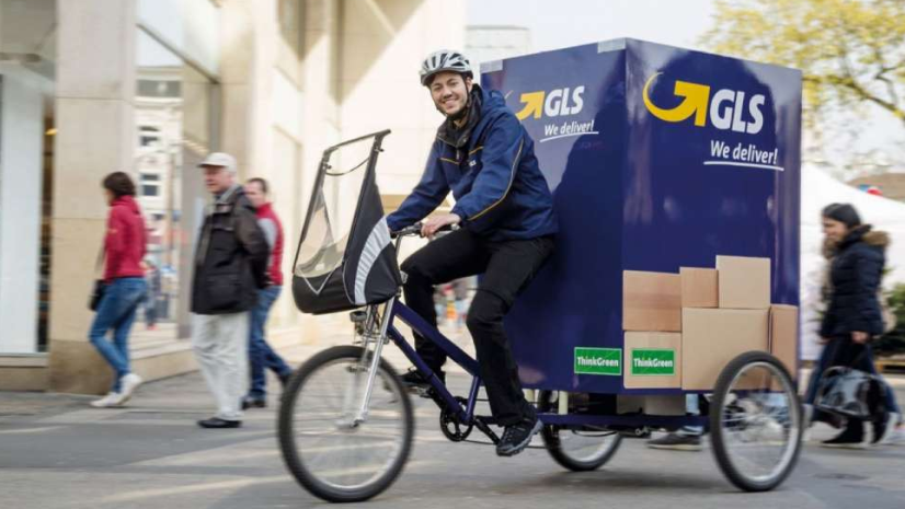In Nürnberg fahren GLS Lastenfahrräder