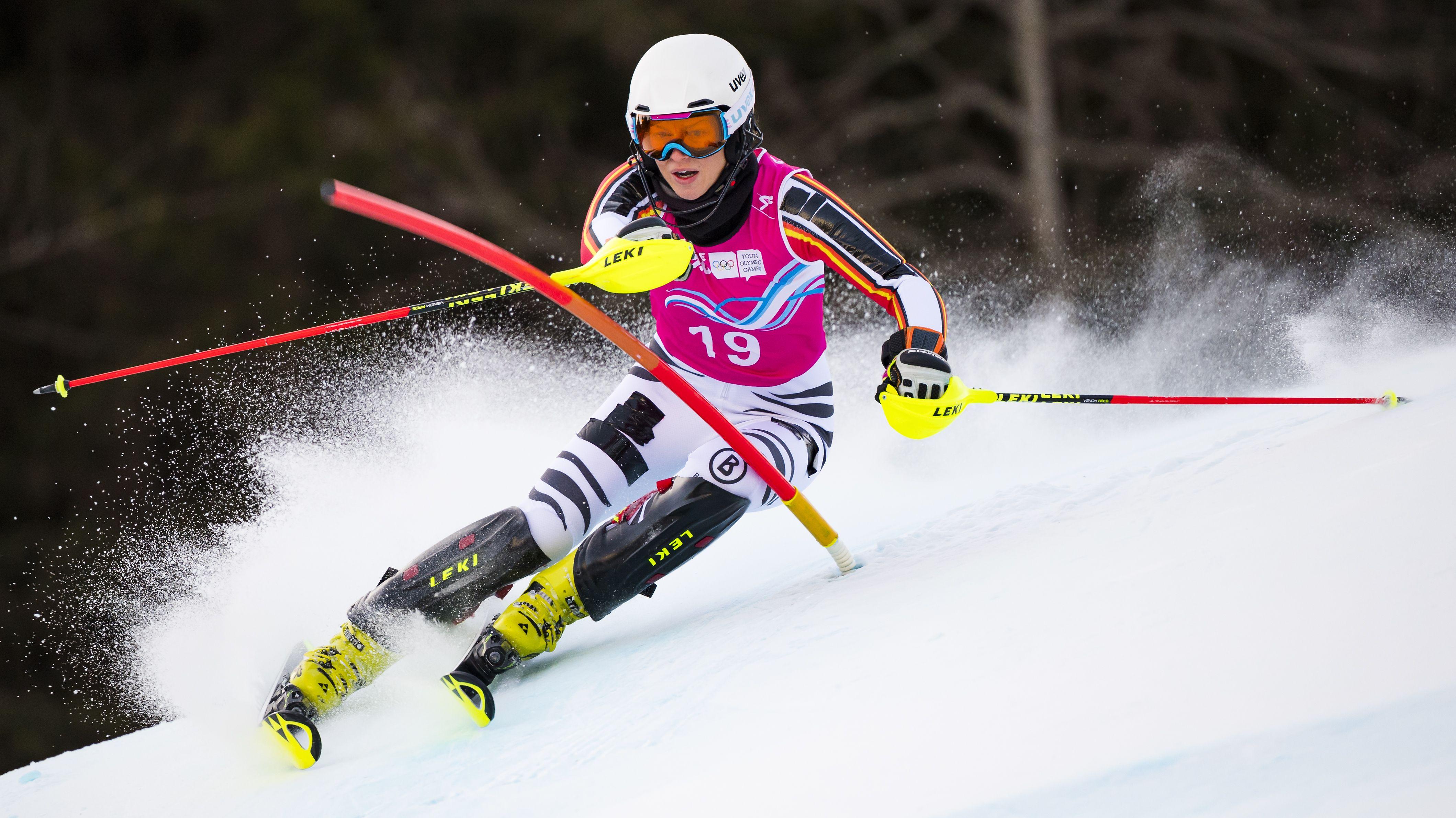 Ski-Youngster Lara Klein