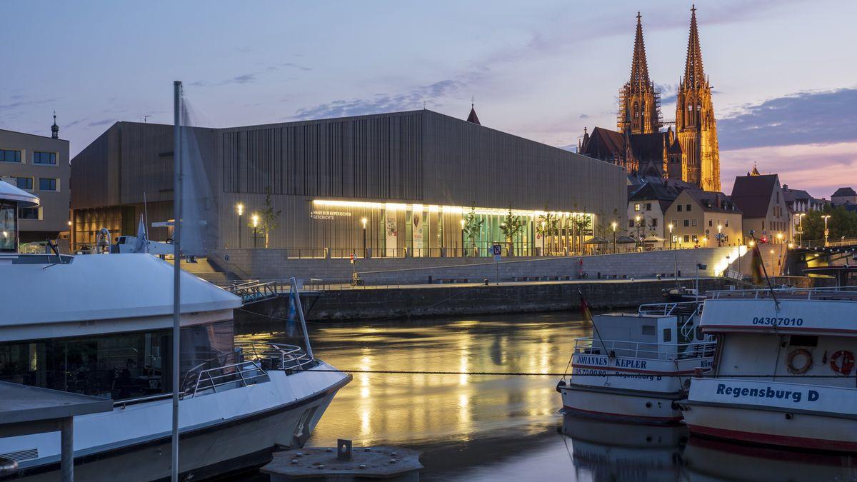 Das Museum der Bayerischen Geschichte in Regensburg.