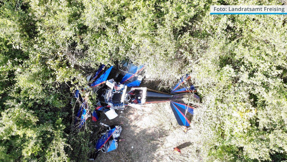 Zwei Männer sterben bei Flugzeugabsturz