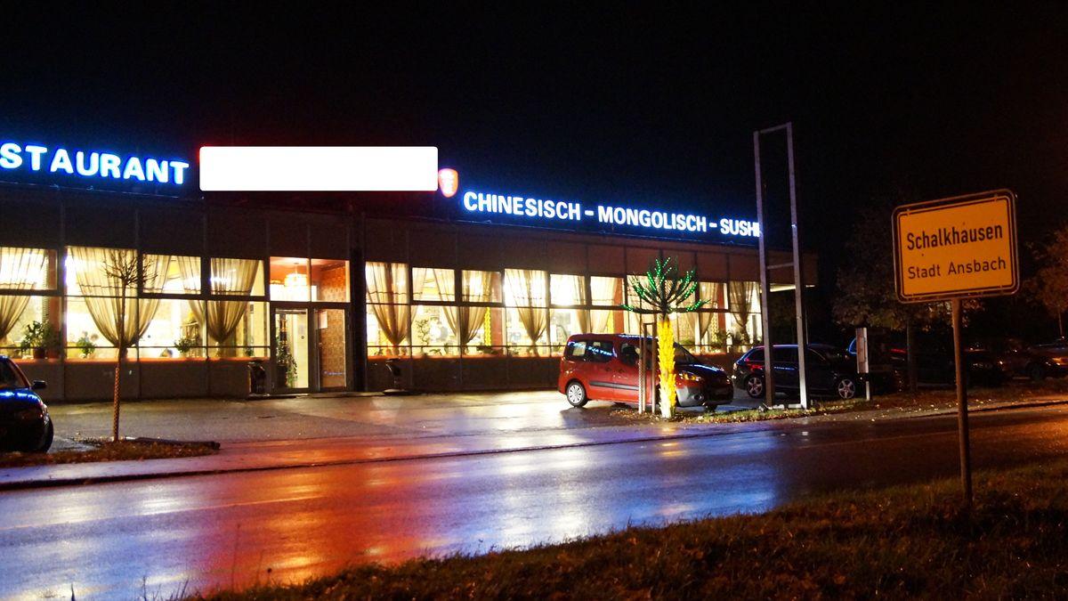 Restaurant im Ansbacher Stadtteil Schalkhausen
