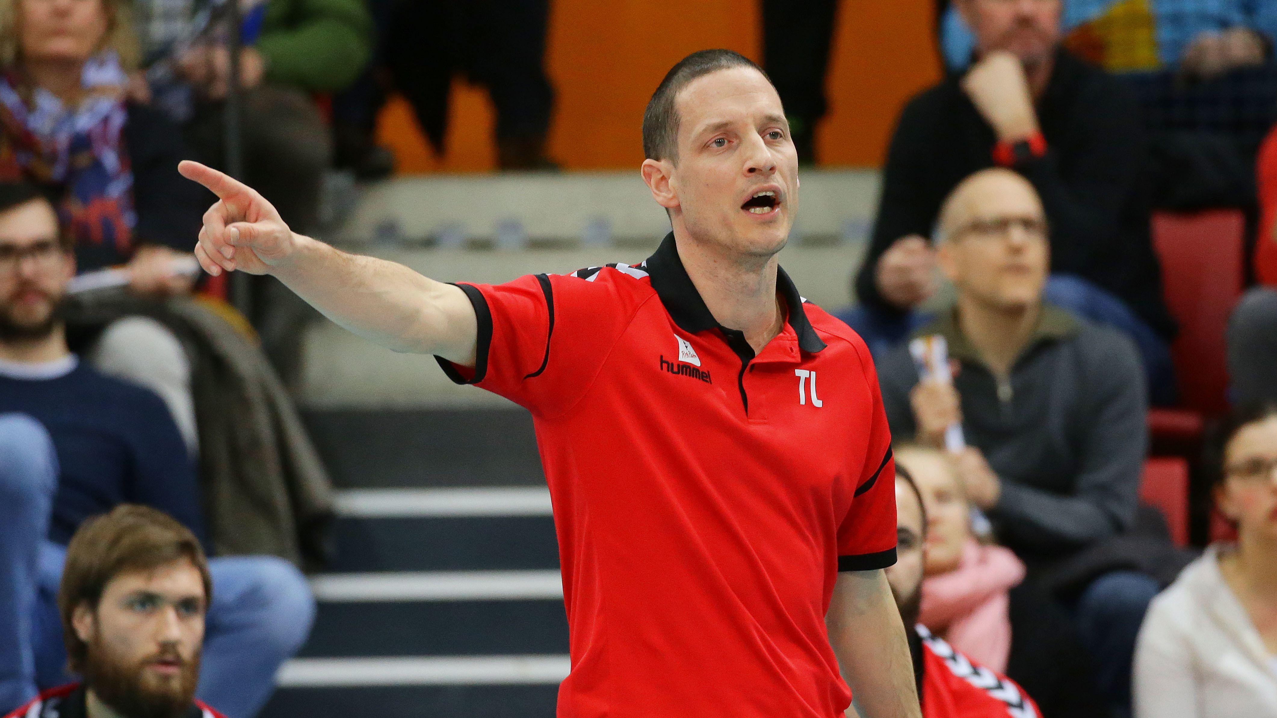 Rote Raben-Trainer Timothy Lippuner