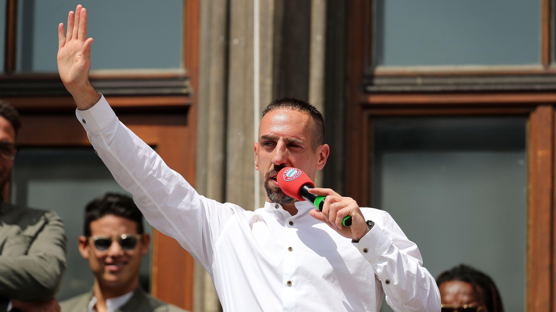 Ex-Bayer Franck Ribery