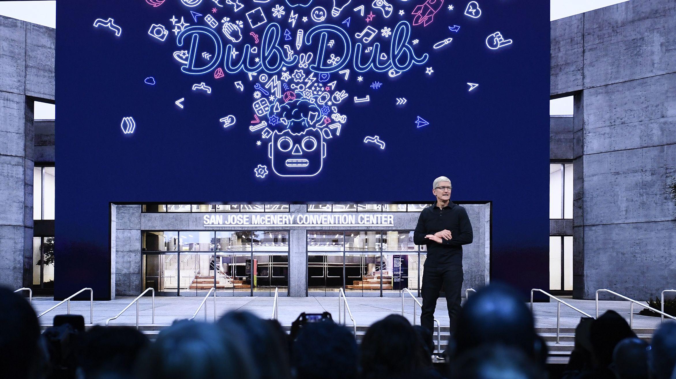 Apple-Chef zeigt Neues