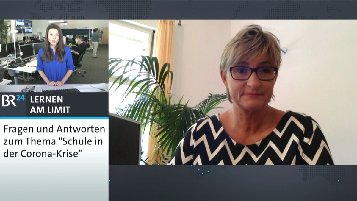 BR24Live mit Simone Fleischmann, Präsidentin des BLLV