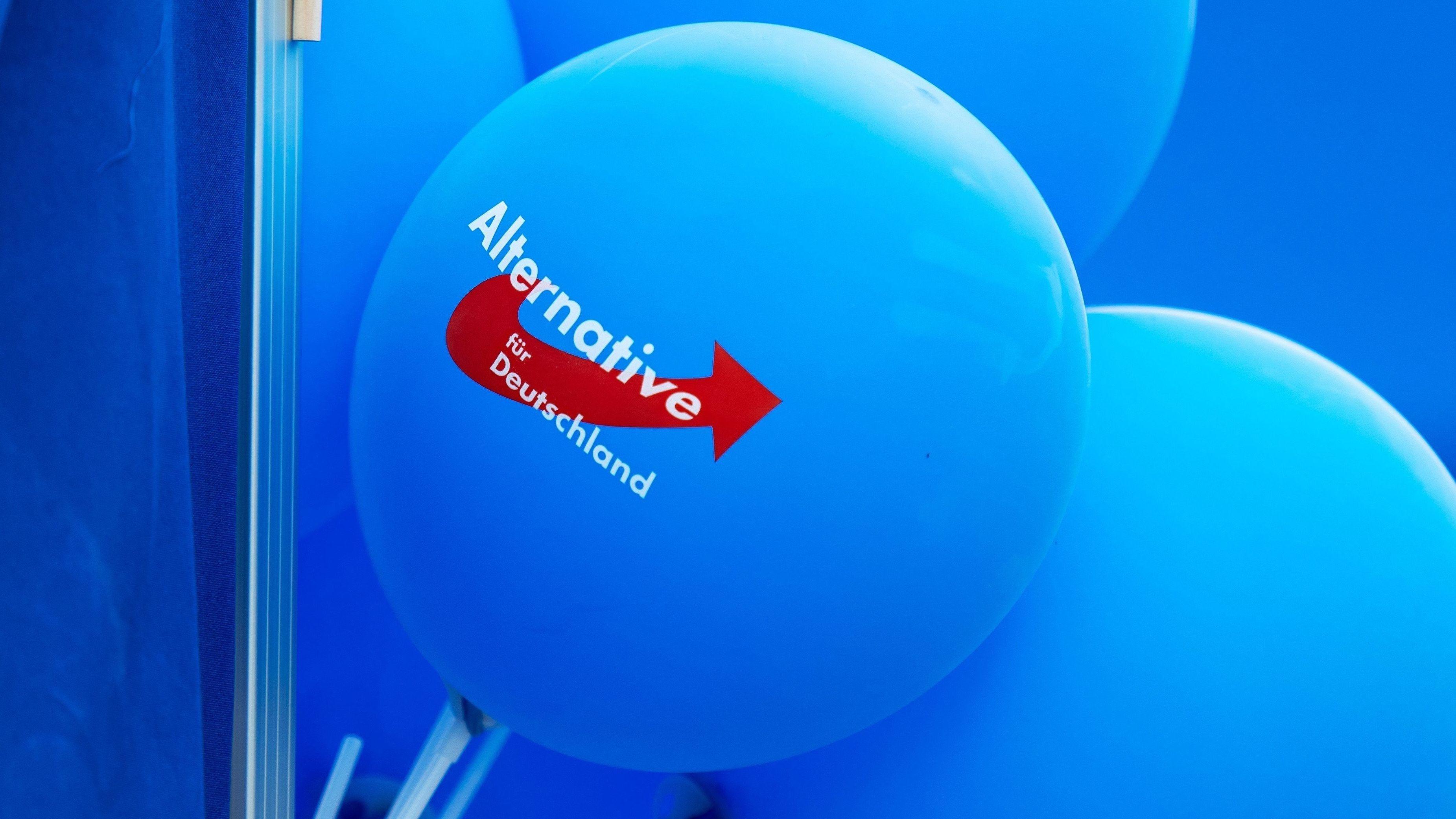 AfD-Luftballons (Symbolbild)