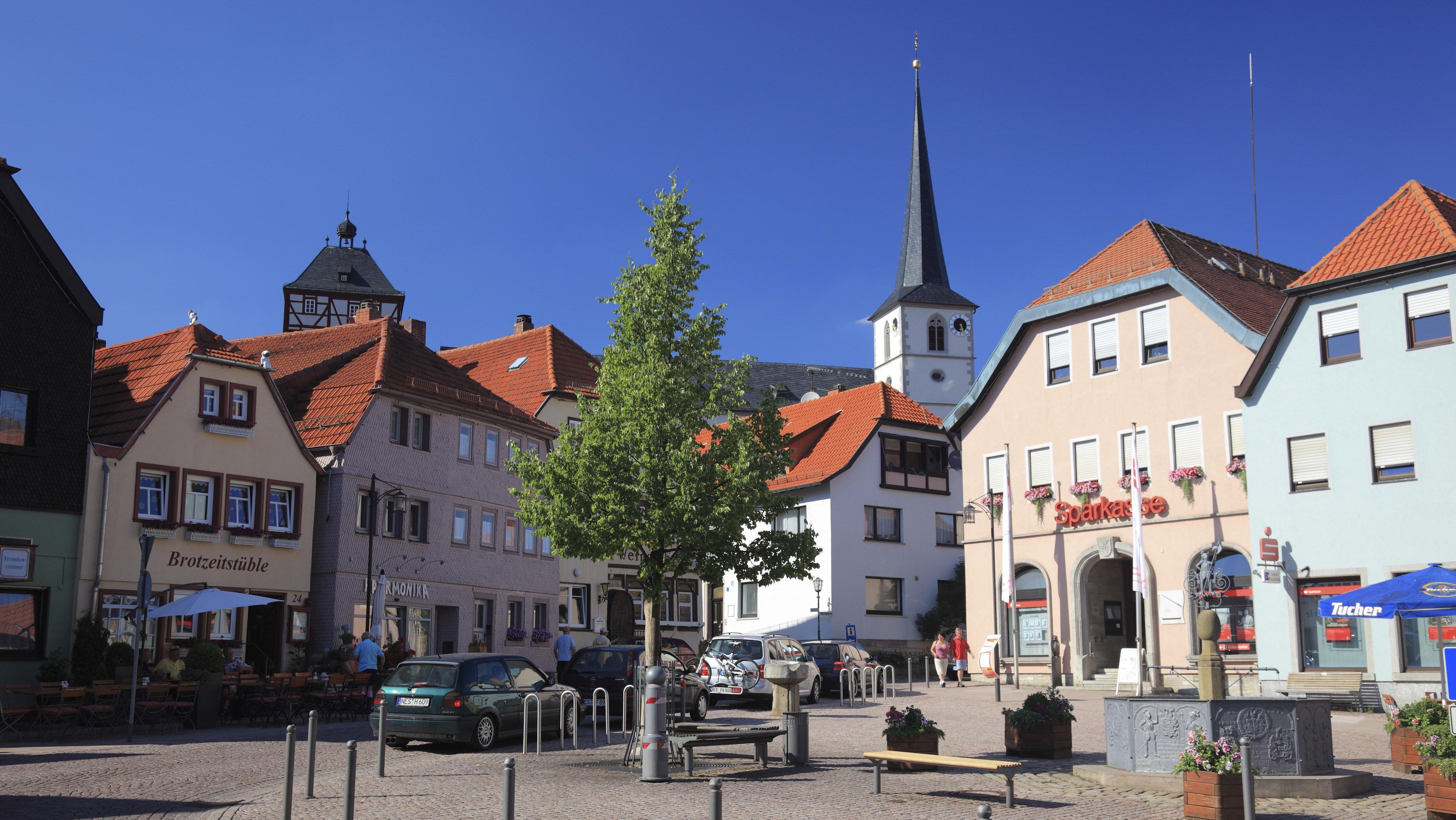 Zentrum von Bischofsheim