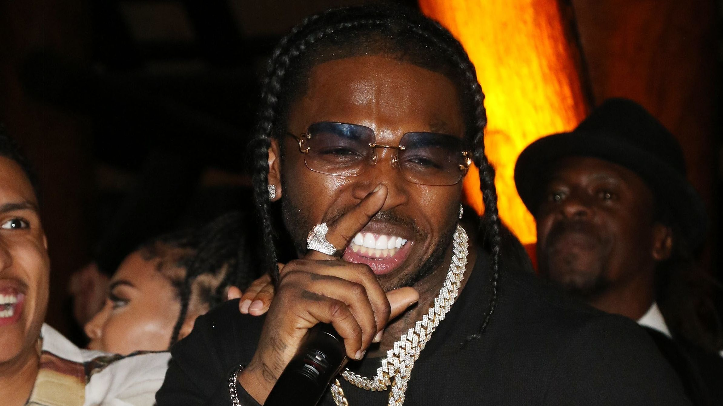 Rapper Pop Smoke